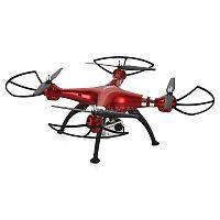 """Квадрокоптер Syma X8HG - усовершенствованная версия модели X8G.<br>Отличительной чертой новой линии квадрокоптеров от фирмы Syma стало добавления барометрического датчика """"H"""" для удерживания нужной высоты во время зависания в воздухе, что способствует более качественной съемке и плавному движению.<br>8-мегапиксельная камера дает возможность делать видео- и фотосъемку высокого качества с записью на карту памяти.<br>Шестиосевой гироскоп делает ваш полет более безопасным, а управление - легким: небольшой ветер перестает быть существенной помехой для занятия любимым хобби. Кроме того, гироскоп повышает стабильность полета.<br>Функция Headless mode позволяет с легкостью определить, где передняя и хвостовая часть. Развороты на 360 градусов по оси и различные воздушные трюки - все это возможно при помощи простого нажатия кнопок и джойстика на пульте управления.<br>Яркие светодиодные бортовые огни помогут Вам проще ориентироваться в ночное время суток и придадут полетам особую зрелищность."""