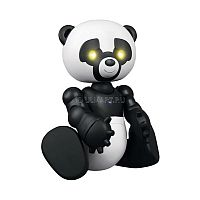 Мини Робопанда WowWee - очаровательная панда, которая может оказаться у Вас дома! Широкие игровые возможности создадут впечатление, что она вовсе не игрушка, а живая зверушка! При включении у нее задорно светятся глазки, она движется вперед, двигая телом и головкой. Управление пандой осуществляется кнопками на ее туловище. Пусть Ваш малыш обретет нового друга! Для работы игрушки требуются 2 батарейки типа AAA (в комплект не входят).