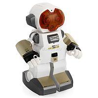 Радиоуправляемый робот Echo Silverlit станет настоящим другом для маленького исследователя. В эргономичном корпусе игрушки скрываются современные технические возможности: он сможет записывать фразы и речь своего будущего владельца, реагирует на хлопки руками движениями и звуками. Благодаря своей особенной программе для робота не существует никаких преград на пути: при обнаружении объектов он останавливается и поворачивается, чтобы обойти препятствие. После того, как основные функции наскучат ребенку, он сможет насладиться демо-трюками в исполнении игрушки, но настоящее веселье наступит, если робот встретится со своими собратьями, с которыми он всегда найдет, о чем поговорить. Для работы игрушки необходимы 4 батарейки типа AAA (в комплект не входят).