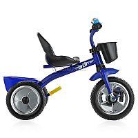 Велосипед Zilmer Голден Люкс - стильный вариант для прогулок двухлетнего крохи. Максимально простая эргономичная конструкция создает необходимый уровень комфорта для ребенка. Качественный материал обуславливает устойчивость и надежность модели, не создавая треволнений для родителей. Эргономичное сиденье со спинкой позволит маленькому владельцу полностью расслабиться и получать удовольствие от своей поездки. Колеса EVA оптимального диаметра обеспечивают плавный и тихий ход по поверхности. Удобный руль оснащен специальными рельефными ручками, которые удобны для захвата детской ручкой во избежание соскальзывания. Две вместительные корзинки станут отличным местом для хранения мелочей и любимых игрушек, а при помощи звонка на руле малыш сможет оповещать всех о своем движении.