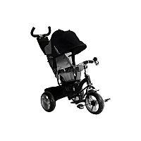 Велосипед трехколесный VipLex 908-3D - функциональный способ передвижения для Вашего ребенка на прогулке. Продуманная до мелочей конструкция подарит ему комфорт, а Вам чувство спокойствия за его безопасность. Велосипед подойдет для детей от полутора лет или ростом от восьмидесяти до ста сантиметров. Удобное эргономичное кресло с регулировкой легко подстроится под нужные параметры для удобства Вашего малыша. Рифленая поверхность педалей не дает ножкам скользить. Если они устанут их крутить, то малыш всегда сможет поставить ноги на специальную подножку с ребристыми резиновыми накладками, а родители смогут продолжить катать с помощью родительской ручки. Звонкий хромированный звонок наверняка понравится ребенку, с его помощью он сможет оповещать о своем движении. В багажной корзинке, которую легко прикрепить сзади, можно перевозить необходимые детские мелочи. Тент-капюшон позволит быть готовым к капризам погоды. VipLex 908-3D возьмет все хлопоты на себя, пока Вы с ребенком наслаждаетесь прогулкой.<br>Размеры в разложенном виде: 86 х 50 х 100 см.