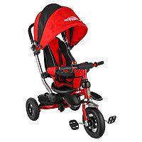 Велосипед Navigator Lexus 10 (Т57662) - отличный детский трехколесный велосипед. Который сочетает в себе функции прогулочной коляски и детского велосипеда. Управлять велосипедом может ребенок, крутя педели на переднем колесе и поворачивая руль, а также родители с помощью специальной ручки. Ребенок удерживается в кресле велосипеда с помощью трехточечных ремней безопасности с мягкими накладками. Дополнительную безопасность обеспечивает страховочный обод. Велосипед оснащен капюшоном, который защитит ребёнка от солнца и дождя. Капюшон можно отрегулировать. Спинка кресла также может быть отрегулирована. Все съёмные тканевые элементы можно стирать при температуре 30 градусов.