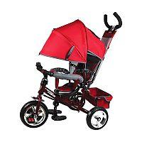 Велосипед трехколесный Navigator Lexus - стильный и практичный детский трехколесный велосипед. Этот велосипед может управляться ребенком, а также родителями с помощью специальной ручки. Велосипед оснащен объёмным складным тентом, который надёжно защитит ребенка от солнца и дождя. Педали располагаются на переднем колесе. Имеются 2 подножки. Безопасность ребенка во время движения обеспечивается страховочным ободом. Также у велосипеда имеется звонок и корзина для аксессуаров.