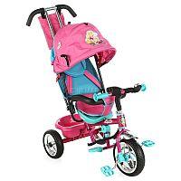 Велосипед Navigator Lexus Barbie - функциональное и стильное транспортное средство для Вашего малыша. Привлекательный дизайн контрастных цветов с изображением популярного героя из известного мультфильма наверняка не останется незамеченным в городском дворе или парке. Родители смогут контролировать движение крохи при помощи специальной ручки-толкателя, а малышу будет комфортно во время поездки, сидя на эргономичном сиденье, спинка которого регулируется. Большие колеса обеспечивают плавный ход по поверхности, а страховочный обод дополнительно фиксирует положение ребенка. Водонепроницаемый тент защитит маленького непоседу от капризов погоды, а задняя корзинка позволит захватить все свои любимые игрушки и необходимые принадлежности с собой на прогулку.