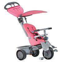 Велосипед трехколесный Smart Trike Recliner - стильный и комфортный детский велосипед, который предназначен для детей в возрасте от 6 месяцев до 4 лет. Этот велосипед может управляться ребенком и родителями. Для родителей предусмотрена специальная удобная ручка. Велосипед оснащен мягким удобным креслом. Кресло может быть отрегулировано в двух положениях. Ребенок надёжно фиксируется при помощи внутренних ремней с мягкими накладками. У велосипеда имеется специальный козырек, который защитит ребенка от дождя и солнца. У велосипеда есть корзинка, в которую можно поместить необходимые вещи или игрушки.