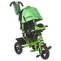 Велосипед трехколесный Lamborghini - стильный велосипед с мягким сиденьем, создаст комфорт ребенку при передвижении. Пятиточечный ремень безопасности надежно защитит ребёнка во время движения. Велосипед оснащен фарой со светодиодами и ключом зажигания. Функции поворотников и «аварийки», ревущий звук мотора и сигнала - не оставят равнодушными маленьких гонщиков. Надувные колёса диаметром 12 и 10 дюймов обеспечат максимально плавное и безопасное движение по любой поверхности! Свободный ход колеса даст возможность детям крутить педали, а мамам при этом управлять транспортным средством с нужной им скоростью. Капюшон велосипеда может быть отрегулирован по высоте - это позволит сделать велосипед максимально комфортным. Наклонная спинка создаст необходимый комфорт, если ребенок устал. Тормоз задних колес защитит от произвольного движения велосипеда. Велосипед имеет складывающиеся удобные подножки, телескопическую ручку управления для родителей и вместительный багажник.