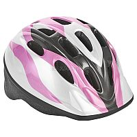 Шлем Action послужит отличной защитой для ребенка во время катания на роликах или велосипеде.<br>Он выполнен из плотного вспененного пенопласта, покрытого пластиковой пленкой и отлично сидит на голове, благодаря мягким вставкам на внутренней стороне. Шлем снабжен системой вентиляции и крепится при помощи удобного регулируемого ремня с пластиковым карабином, застегивающимся на подбородке.<br>
