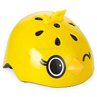 Современный и легкий детский шлем Rexco имеет оригинальный и привлекательный дизайн, предназначен для использования в качестве дополнительной защиты во время катания на велосипеде, скейтборде, самокате или роликовых коньках. Он выполнен из качественного, ударопрочного ABS-пластика и амортизирующей пены EPS, что позволяет эффективно защитить голову вашего ребенка от травм, а также обладает отличной системой вентиляции и оснащен удобными регулируемыми ремешками для крепления.