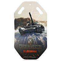 Ледянка World of Tanks 92 см (T58180) - это оригинальная стильная ледянка, выполненная по мотивам культовой игры World of Tanks. Она не даст вам скучать в зимнее время, и Вы сможете наслаждаться катанием с горок. В корпусе ледянки имеются специальные ручки, за которые можно держаться во время катания, а также осуществлять переноску.