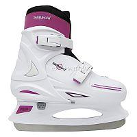 Коньки ледовые раздвижные Senhai Relax изготовлены из прочного пластика. Мягкий валенок, как и сам конек регулируется по размеру. Коньки ледовые не предназначены для игры в хоккей. Их используют только для любительского катания.