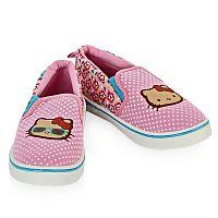 Стильные туфли  Hello Kitty от CrossWay - практичное дополнение к повседневному гардеробу маленькой модницы, подходящее для прогулок в летний сезон и в качестве школьной сменной обуви. Продукция CrossWay разработана специально для детей, с учетом их анатомических особенностей и потребностей. В производстве применяются современные технологии и высококачественные материалы, делающие каждую модель комфортной и долговечной: гибкая нескользящая подошва с рельефным рисунком, текстильная подкладка и амортизирующая антибактериальная стелька из гипоаллергенного натурального хлопка. Качество изделий тщательно контролируется на каждом этапе изготовления, безопасность подтверждена российскими сертификатами. Приятная расцветка в сочетании с изящными элементами декора придает модели эффектный внешний вид, достойный истинной леди.<br>Состав материала: верх - текстиль; внутренняя отделка и стелька - текстиль (хлопок); подошва - ПВХ.
